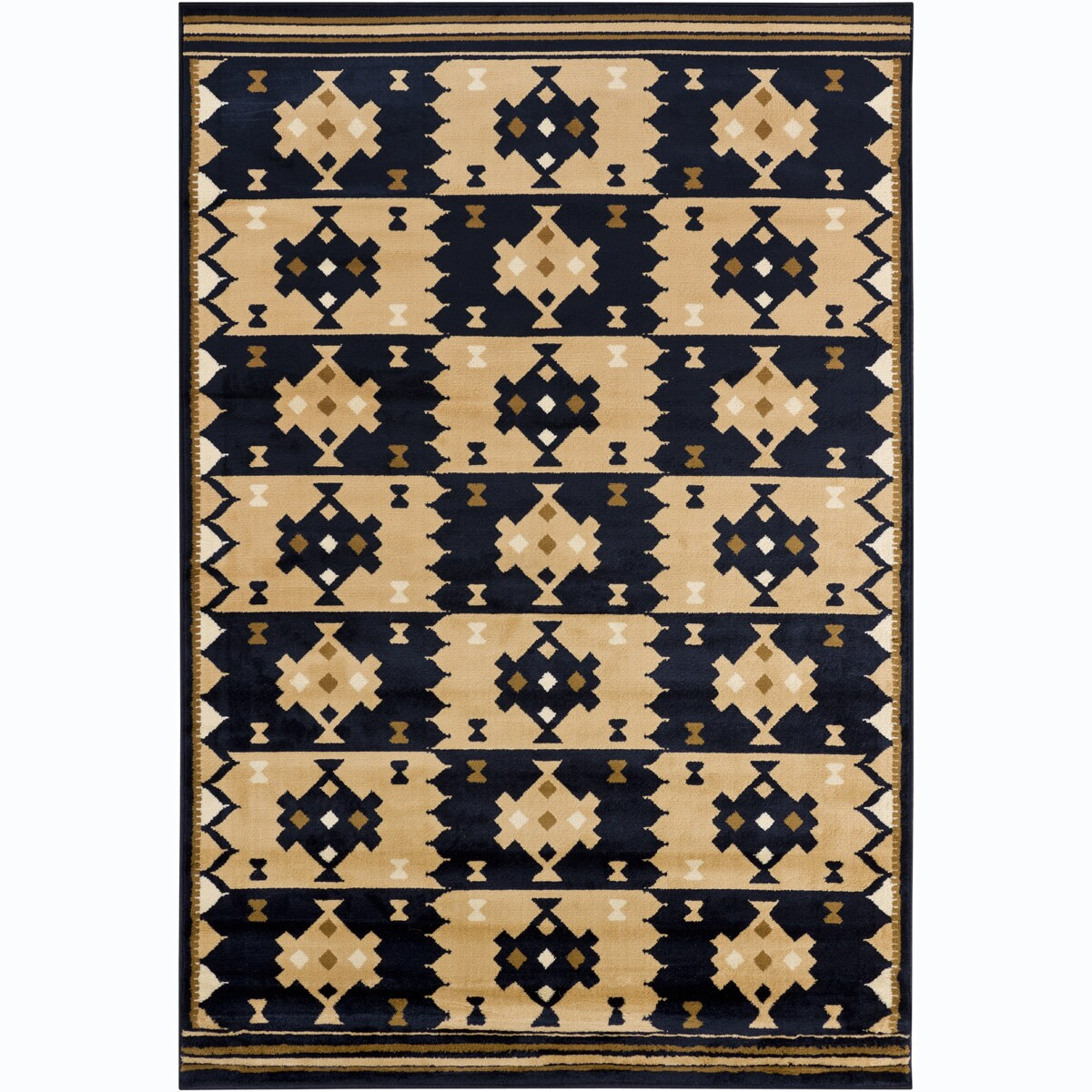 Artist's Loom Indoor Contemporary Geometric Rug (8' x 11'2) - 8' x 11'