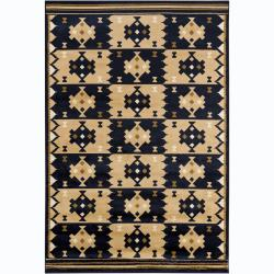 Artist's Loom Indoor Contemporary Geometric Rug (8' x 11'2) - 8' x 11' - Thumbnail 0