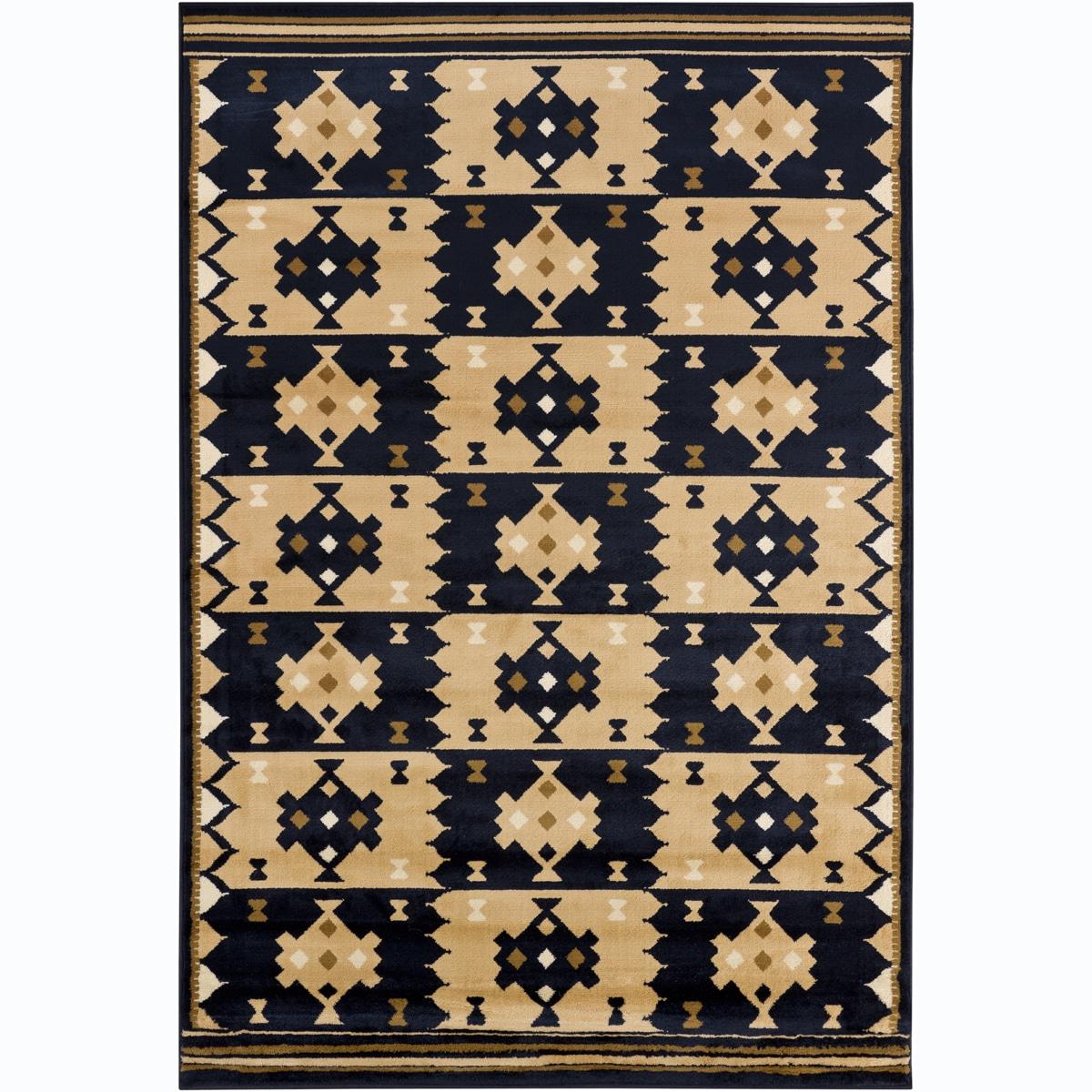 Artist's Loom Indoor Contemporary Geometric Rug - 5'3 x 7'9