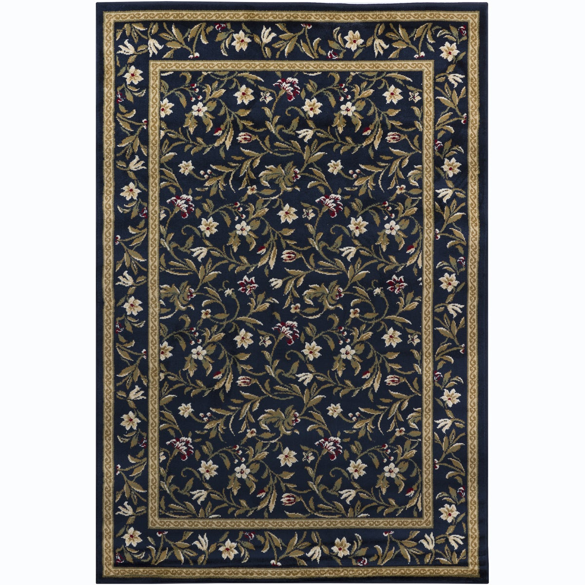 Artist's Loom Indoor Transitional Floral Rug (8' x 11'2) - Thumbnail 0