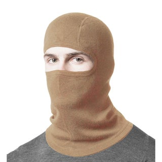 Minus33 Unisex Merino Wool Mid-weight Balaclava (Option: Brown)