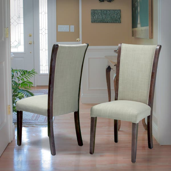 Awe Inspiring Collins Pale Green Fabric Dining Chairs Set Of 2 By Christopher Knight Home Ibusinesslaw Wood Chair Design Ideas Ibusinesslaworg