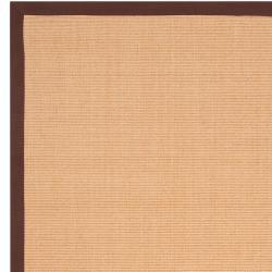 Woven Brown Hillsborough West Natural Fiber Casual Sisal Rug (9' x 12') - Thumbnail 2