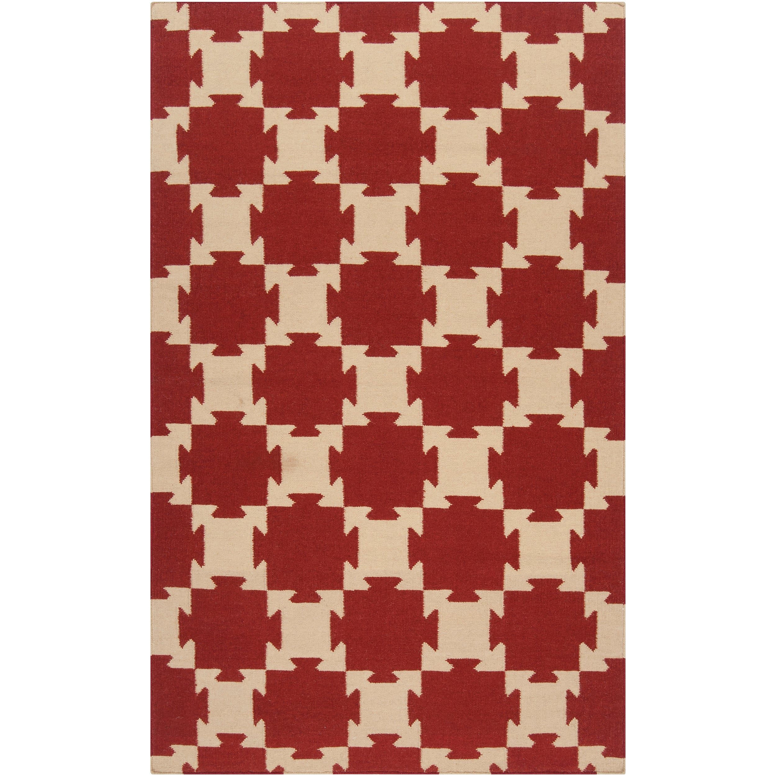 Hand-Woven Queens Bay Wool Area Rug (8' x 11') - Thumbnail 0