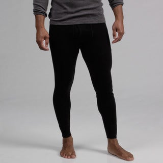 Minus33 Men's Black 'Katmai' Merino Wool Expedition Weight Base Layer Bottoms