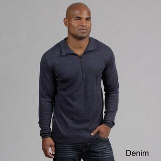 Minus33 Men's 'Isolation' Merino Wool Mid-weight 1/4-zip Base Layer Shirt