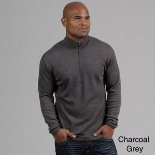 Minus33 Men's 'Isolation' Merino Wool Mid-weight 1/4-zip Base Layer Shirt (More options available)
