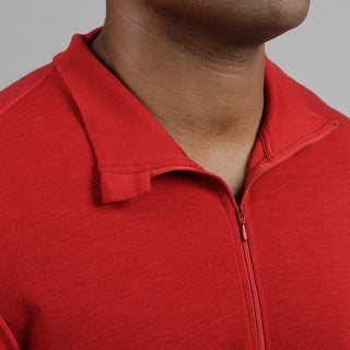 Minus33 Men's 'Isolation' Merino Wool Mid-weight 1/4-zip Base Layer Shirt