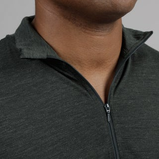 Minus33 Men's 'Tarleton' Merino Wool Lightweight 1/4-zip Base Layer Shirt