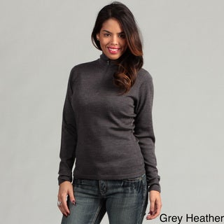 Minus33 Women's 'Liberty' Merino Wool Lightweight 1/4-zip Base Layer Top