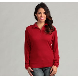 Minus33 Women's 'Liberty' Merino Wool Lightweight 1/4-zip Base Layer Top (More options available)