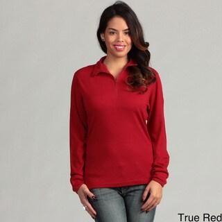 Minus33 Women's 'Sequoia' Merino Wool Mid-weight Zip Neck Base Layer Top