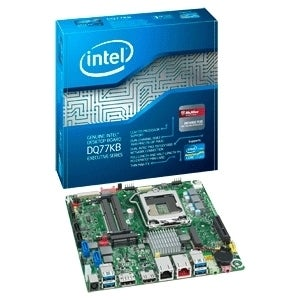 Intel Executive DQ77KB Desktop Motherboard - Intel Chipset - Socket H