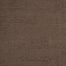 Hand-crafted Solid Brown Casual Mantra Wool Rug (9' x 13') - Thumbnail 2