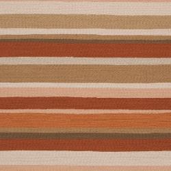 Hand-hooked Cladagh Tan Indoor/Outdoor Stripe Rug (9' x 12') - Thumbnail 2