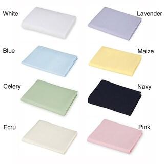 American Baby Company Supreme Jersey Portable Crib Sheet (Option: White)