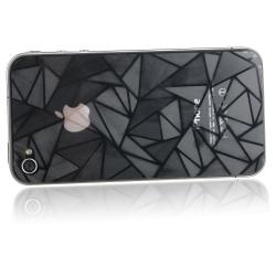 INSTEN Front/ Back Diamond Screen Protector for Apple iPhone 4/ 4S (Set of 2)