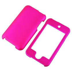 INSTEN iPod Case Cover/ Mirror Screen Protector for Apple iPod Touch Generation 2/ 3 - Thumbnail 1
