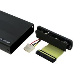 INSTEN Black 3.5-inch IDE HDD Enclosure - Thumbnail 1