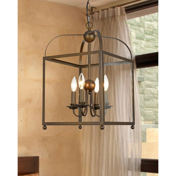 Angelo Bronze Lantern Chandelier Free Shipping Today