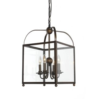 Angelo Antique Copper Lantern Chandelier