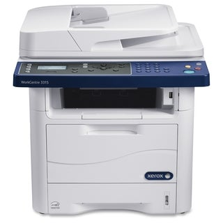Xerox WorkCentre 3315/DN Laser Multifunction Printer - Monochrome - P