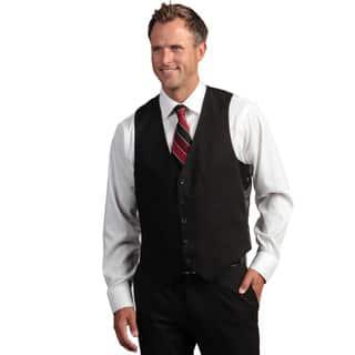 Kenneth Cole Reaction Men's Slim Fit Black Suit Separate Vest https://ak1.ostkcdn.com/images/products/6751121/P14294462.jpg?impolicy=medium