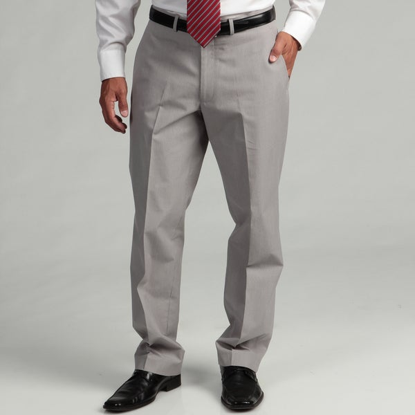 Kenneth Cole New York Cotton Slim Fit Grey Pincord Suit Separate Pant