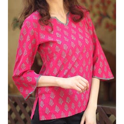 Cotton 'Jaipur Belle' Tunic (India)