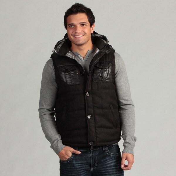 The Fresh Brand Men's 4-pocket Hooded Vest