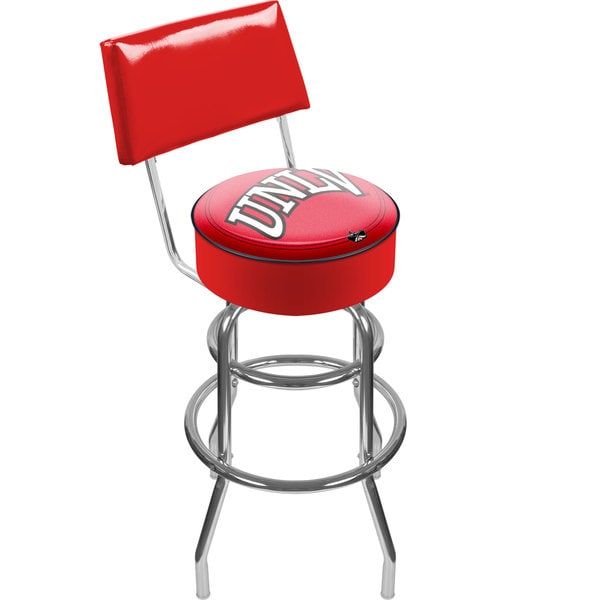 University of Las Vegas Nevada Padded Bar Stool