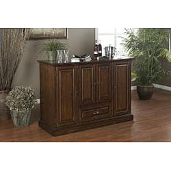 Charlotte 60 Inch Spice Finish Home Bar 14294610 Shopping Big Discounts On Bars