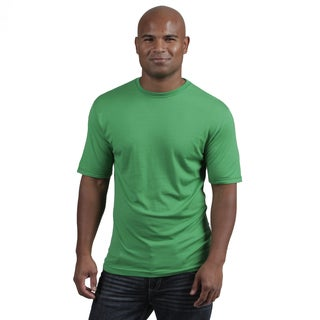 Men's 'Algonquin' Lightweight Merino Wool Crew Neck T-Shirt (Option: Xxl)