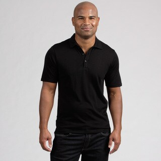 Minus33 Men's 'Kearsarge' Black Merino Wool Lightweight Base Layer Polo Shirt