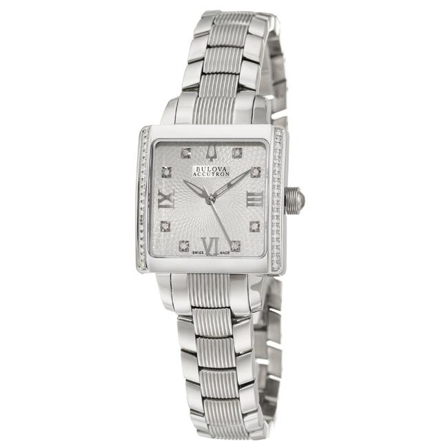 Bulova Accutron Women's 'Masella' Water-Resistant Stainless-Steel Quartz Watch