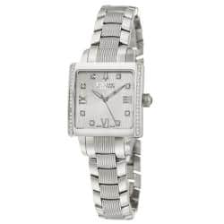 Bulova Accutron Women's 'Masella' Water-Resistant Stainless-Steel Quartz Watch|https://ak1.ostkcdn.com/images/products/6751550/79/830/Bulova-Accutron-Womens-Masella-Stainless-Steel-Quartz-Watch-P14294739.jpg?impolicy=medium