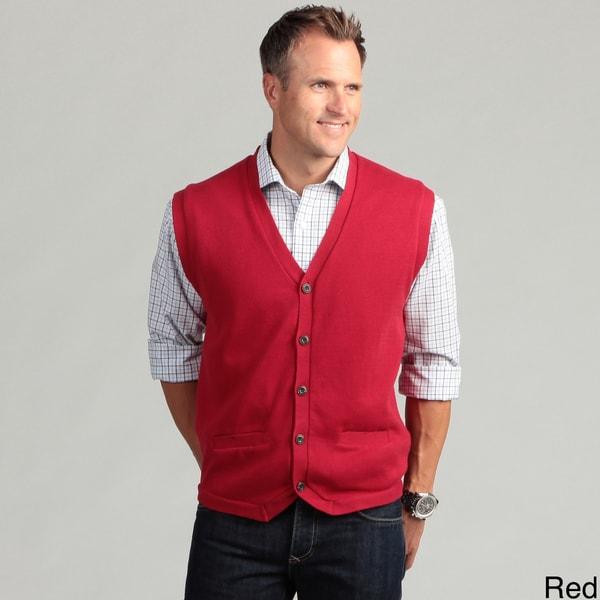 Chaps Men's Five-button Vest