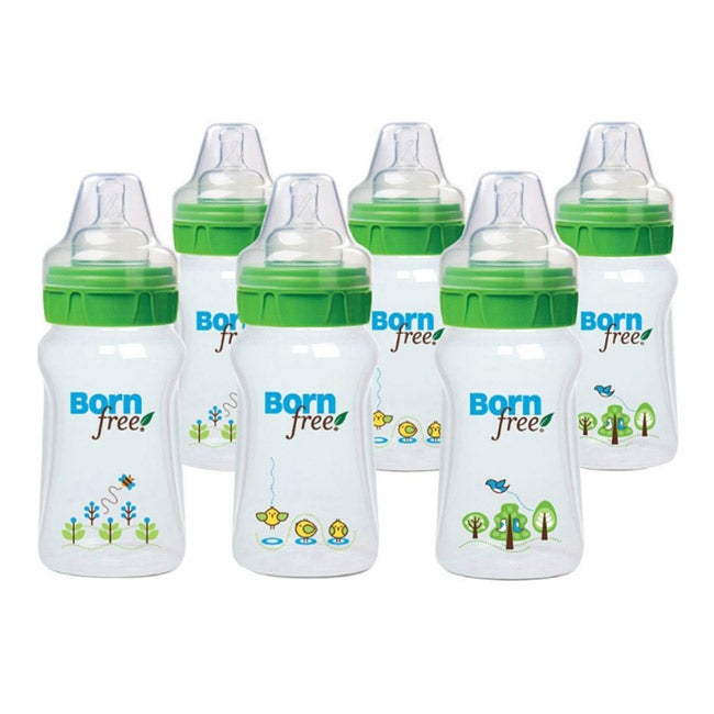 Born Free Eco Deco 9-ounce Bottles (Pack of 6)