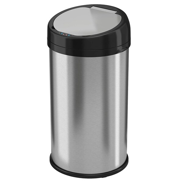 Shop Itouchless 13 Gallon Round Extra Wide Lid Automatic