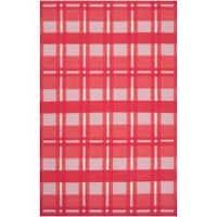 Hand-woven Pink Hapac Wool Area Rug (8' x 11')