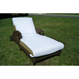 Authentic Turkish Cotton Towel Cover for Standard Size Chaise Lounge Chair