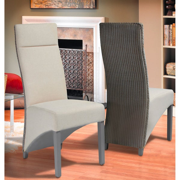 Christopher Knight Home Delila Rattan Tall Dining Chairs (Set of 2)