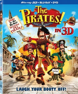 The Pirates! Band of Misfits 3D (Blu-ray/DVD)
