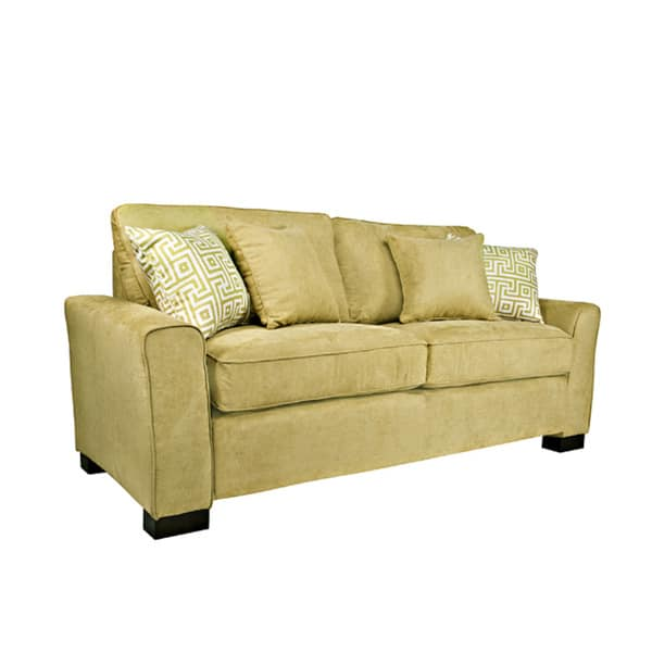 Outstanding Shop Handy Living Spencer Twillo Lotus Green Sofa Free Andrewgaddart Wooden Chair Designs For Living Room Andrewgaddartcom