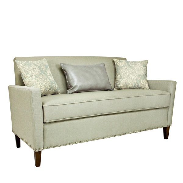 angelo:HOME Sutton Washed Clay Earth Gray Sofa