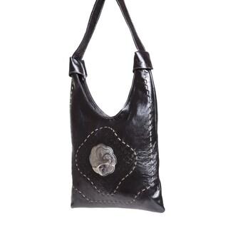 Handmade Black Marrakech Bag (Morocco)