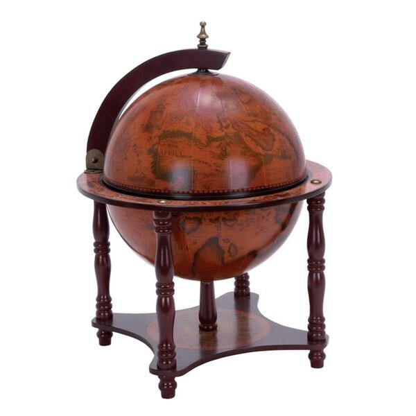 Sixteenth-Century Tabletop Replica Italian-Style World Globe Bar
