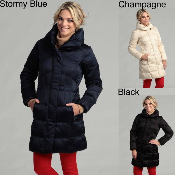 Larry Levine Women's Down Filled Jacket