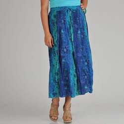 La Cera Women's Plus Reversible Printed Broomstick Skirt|https://ak1.ostkcdn.com/images/products/6753294/La-Cera-Womens-Plus-Reversible-Printed-Broomstick-Skirt-P14296126.jpg?impolicy=medium