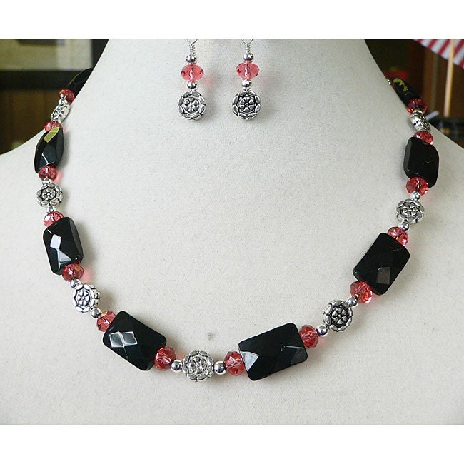 Arabesque' Necklace and Earring Set